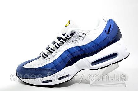 Кроссовки мужские в стиле Nike Air Max 95, Blue\White, фото 2