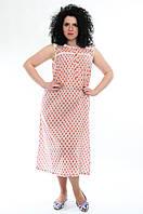 Ночная рубашка, Индия, хлопок, на 44-52 размеры