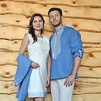 Вышиванка мужская и женское платье с вышивкой, фото 1