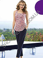 Женская пижама Shirly 1303, костюм домашний с брюками