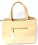 Женские стильные сумки (МОЛОЧНЫЙ), фото 2