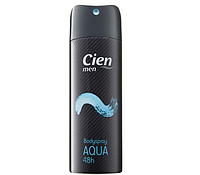 Дезодорант для тела Cien Aqua men Deospray  200 мл