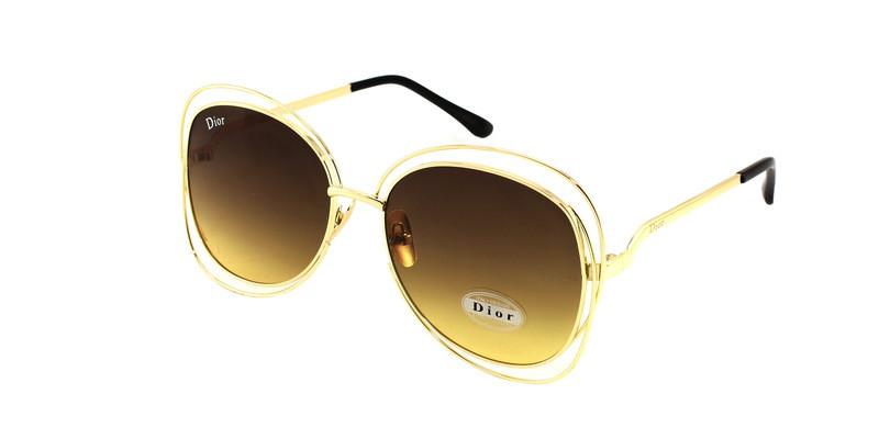 Брендовые солнцезащитные очки овесайзы Dior