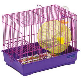 "Клетка ""Давид-1"" для мелких декоративных грызунов, 30х20х24 см"