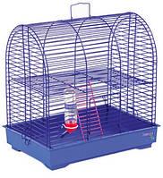 """Клетка """"Рокки с лесенкой"""" для мелких декоративных грызунов, хромированное, 37х28х36 см"""