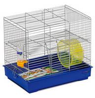 """Клетка """"Микки с колесом"""" для мелких декоративных грызунов, хромированное, 37х28х30 см"""