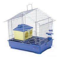 """Клетка """"Джунгарик"""" с домиком, для мелких грызунов, 30х20х24 см"""