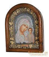 Икона из бисера Пресвятая Богородица Казанская