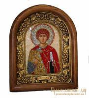Икона из бисера Святой Георгий Победоносец