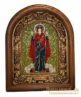 Икона из бисера Пресвятая Богородица Нерушимая стена