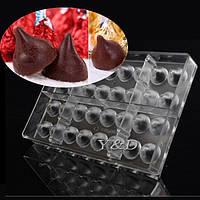 Трюфель поликарбонатная форма для шоколадных конфет