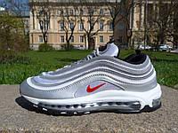 Кроссовки женские Nike Air Max 97 Silver (найк аир макс) (реплика)