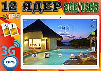 Лучший планшет телефон Lenovo 960, 12 ядер, 10'', 2Gb RAM / 16 Gb Rom, GPS, 2 sim, 3G. Гарантия