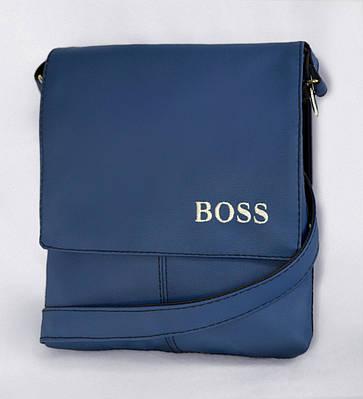 """Мужская сумка """"Alex"""" 10 синяя"""