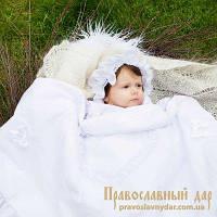 Капор Ажурный белый (104)