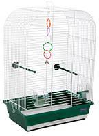 """Клетка """"Аурика"""" для мелких декоративных птиц , хромированное, 44х27х64 см"""