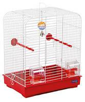 """Клетка """"Белла"""" для мелких декоративных птиц, хромированное, 37х28х37см"""