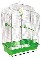 """Клетка """"Воля"""" для мелких декоративных птиц, хромированное, 44х27х63 см"""