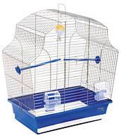 """Клетка """"Мери"""" для мелких декоративных птиц, хромированное, 44х27х54 см"""