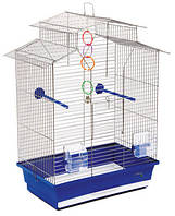 "Клетка ""Изабель - 2"" для мелких декоративных птиц, хромированное,44х27х65 см"