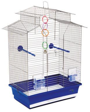 "Клетка ""Изабель - 2"" для мелких декоративных птиц, 44х27х65 см"