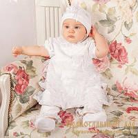 Набор для девочки Миа из коллекции Бархатная белый (3002)