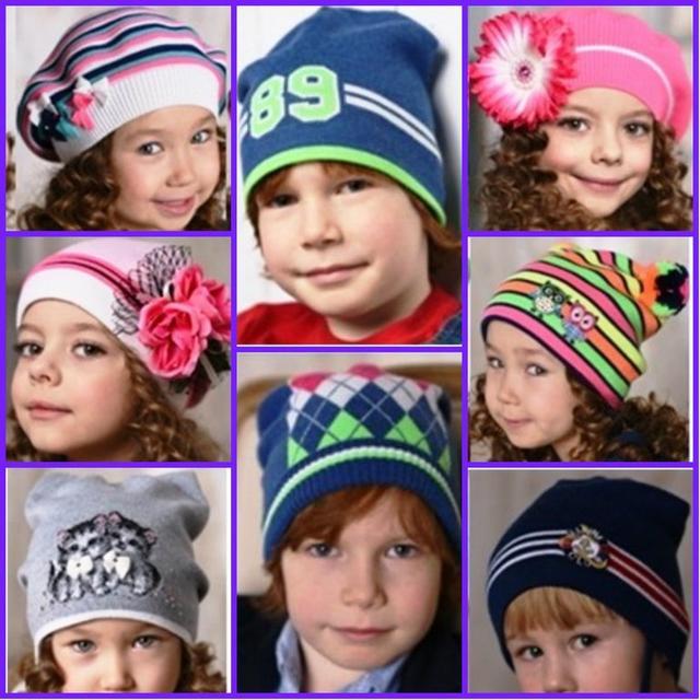 Детские и подростковые головные уборы