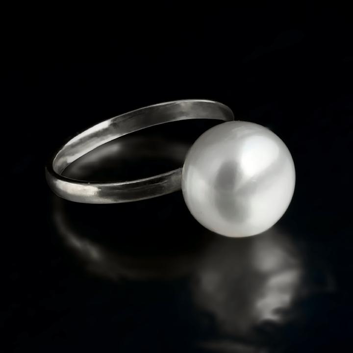Жемчуг белый Ø11, серебро 925, кольцо, 412КЖ - купить по лучшей цене ... fc200dc9281