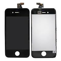 Дисплей (LCD) iPhone 4 с сенсором черный