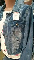Джинсовая куртка женская, фото 1