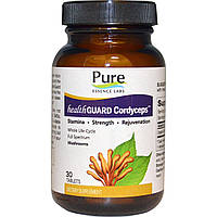 Pure Essence, Health Guard Cordyceps, 30 ct, купить, цена, отзывы
