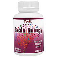 Wakunaga - Kyolic, Препарат для повышения работоспособности мозга, 60 капсул, купить, цена, отзывы