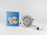 Точечный светодиодный светильник LED LAMP 9W, круглый потолочный светильник