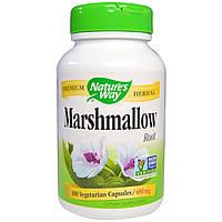 Nature's Way, Корень алтея, 480 мг, 100 капсул в растительной оболочке, купить, цена, отзывы