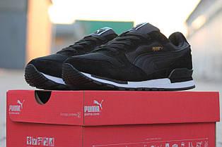 Кросівки чоловічі PUMA RX 727 чорні 45р
