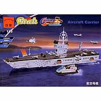 113 «АВИАНОСЕЦ» Конструктор BRICK 990 деталей.