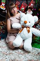 Большой плюшевый медведь Жозефина 80см. разные цвета (плюшевый мишка, мягкая игрушка)