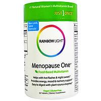 Rainbow Light, Menopause One, пищевые мультивитамины, 30 таблеток, купить, цена, отзывы