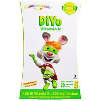 Vitamin Friends, Витамин D DiYo, банан/ваниль, 20 «медведей», купить, цена, отзывы