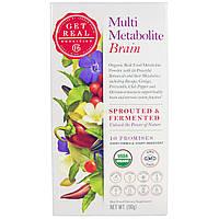 Get Real Nutrition, Мульти-метаболизм - мозг, 90 г, купить, цена, отзывы