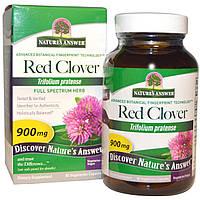 Nature's Answer, Красный клевер, 900 мг, 90 капсул на растительной основе, купить, цена, отзывы