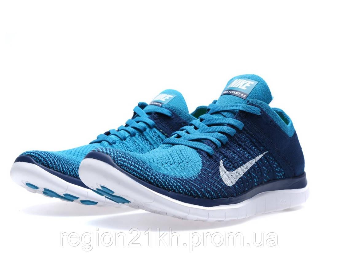 Кроссовки мужские Nike Free Flyknit 4.0 Neo Turquoise
