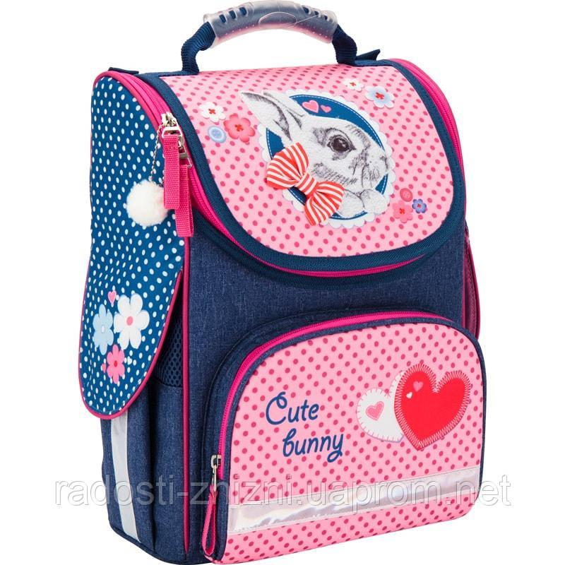 Ранец школьный каркасный KITE 2017 Cute Bunny 501-2 (K17-501S-2)