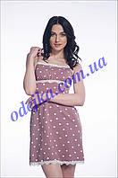 Домашнее платье, сорочка женская LND 099/004 (ELLEN). Коллекция весна-лето 2017! Спешите быть первыми!