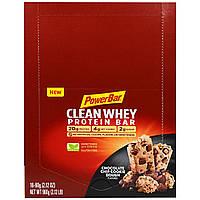 PowerBar, Clean Whey Protein Bar, Chocolate Chip Cookie Dough, 16-2.12 oz (60 g) bars (2.12 lb), купить, цена, отзывы