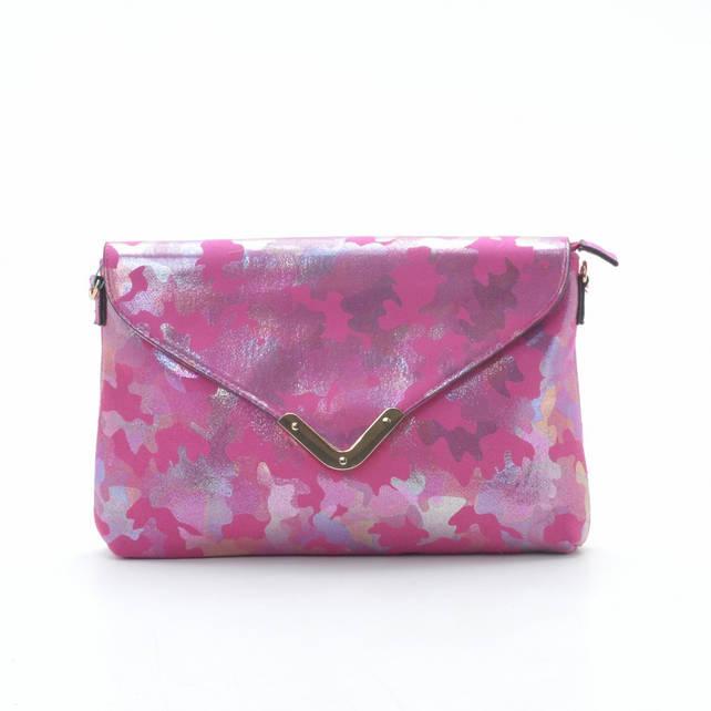 Женская сумочка-клатч L. Pigeon N9-80371 rose