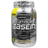 Muscletech, 100%-ный Казеин Серии Platinum, Ванильное Мороженое, 1,80 унции (817 г), купить, цена, отзывы