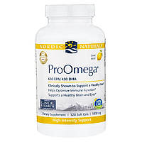 Nordic Naturals, ProOmega, Lemon, 1,000 mg, 120 Soft Gels