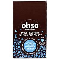 Solgar, ohso, Probiotic Original Belgian Chocolate, Family Pack, 24 Bars, купить, цена, отзывы