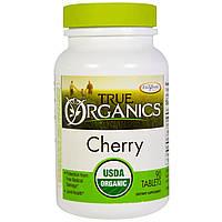 Enzymatic Therapy, True Organics, вишня, 90 таблеток, купить, цена, отзывы